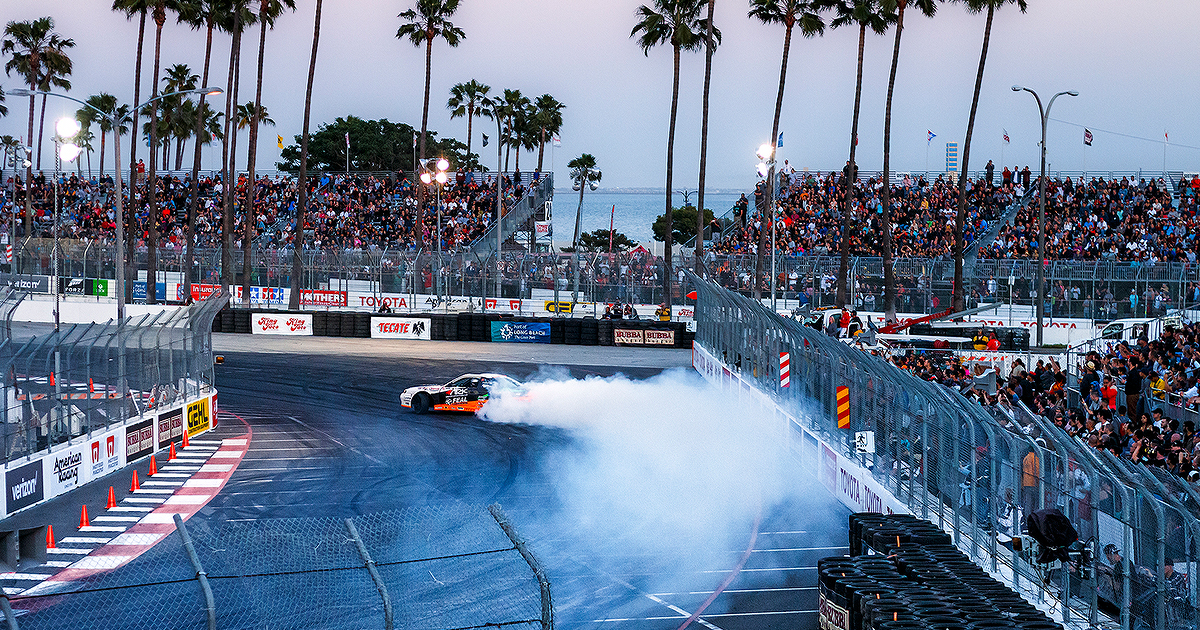 Drifting - Long Beach Grand Prix