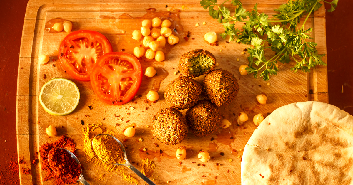 Food Photography - Falafel